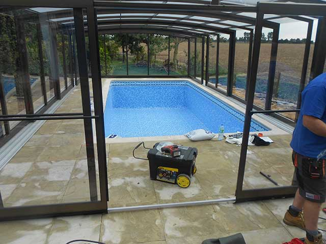 Pool build - Sutton Bridge (After): Image 1 of 5