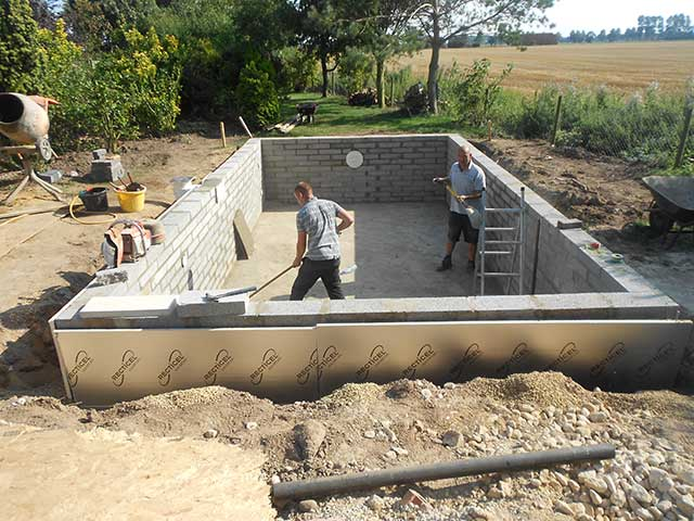 Pool build - Sutton Bridge (Before): Image 2 of 5
