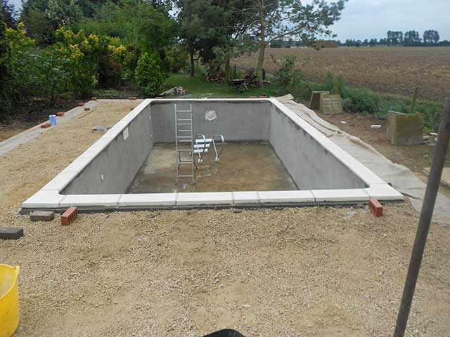 Pool build - Sutton Bridge (Before): Image 4 of 5