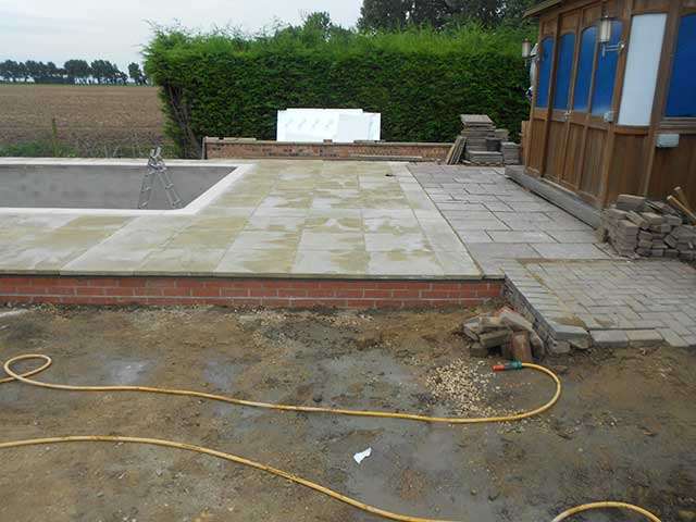 Pool build - Sutton Bridge (Before): Image 5 of 5