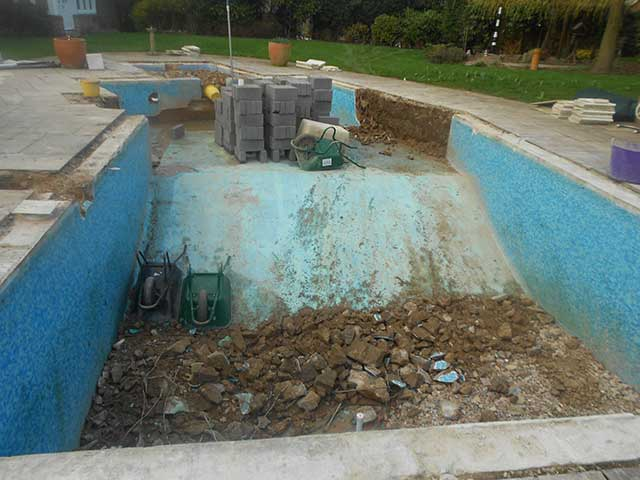 Pool refurbishment - Oakham (Before): Image 2 of 5