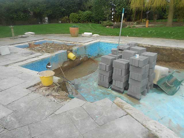Pool refurbishment - Oakham (Before): Image 3 of 5